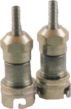 QD - S/S - Gas IN - Barbed End